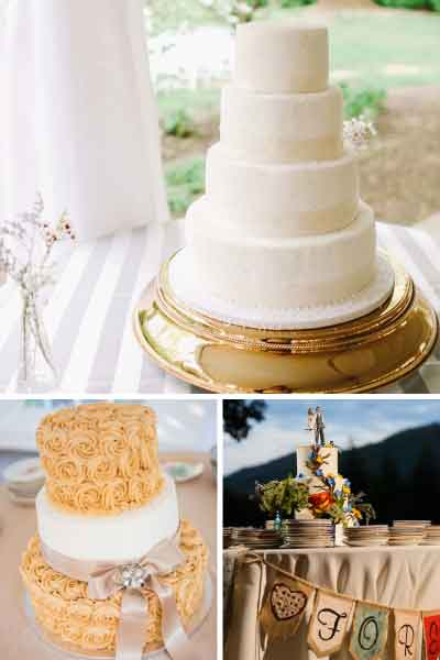 Wedding cakes in Virginia