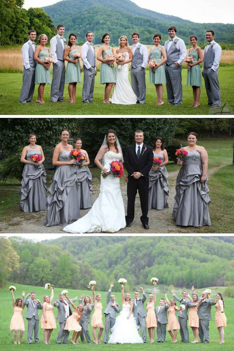 wedding fashions in Virginia