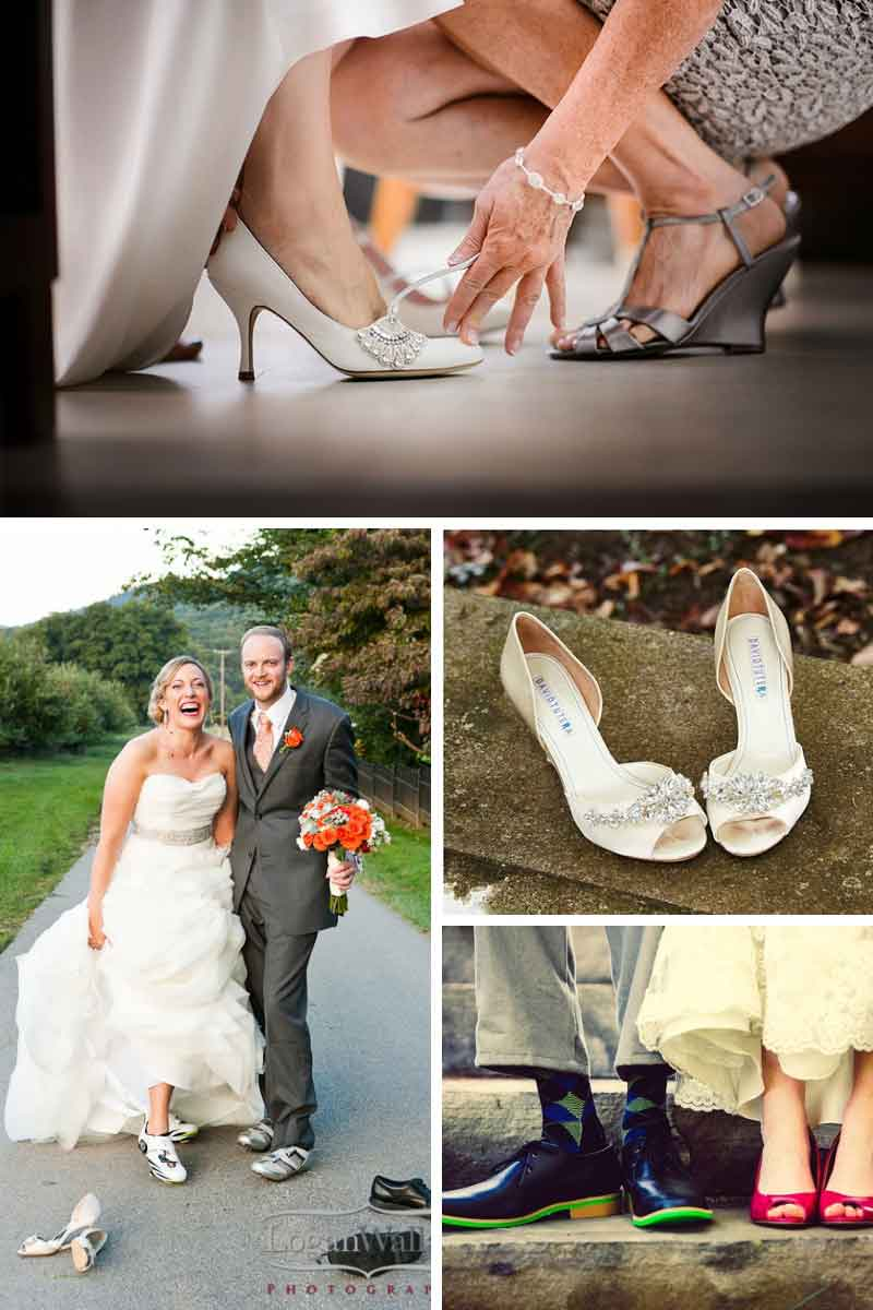 beautiful bridal shoes in Virginia