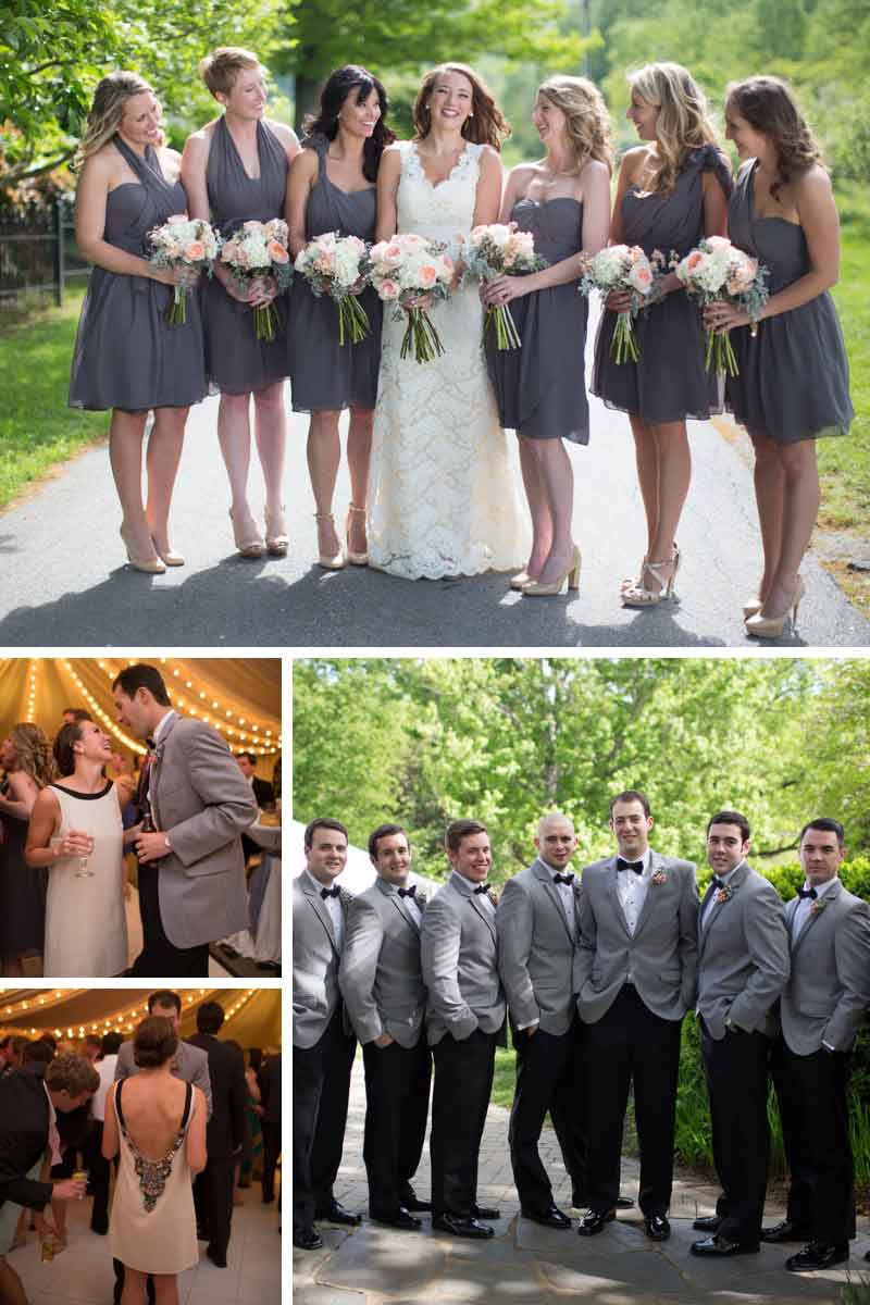 elegant wedding fashions