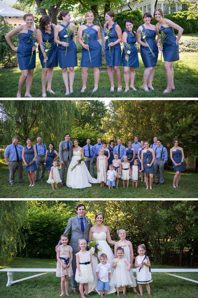 bridal party fashions