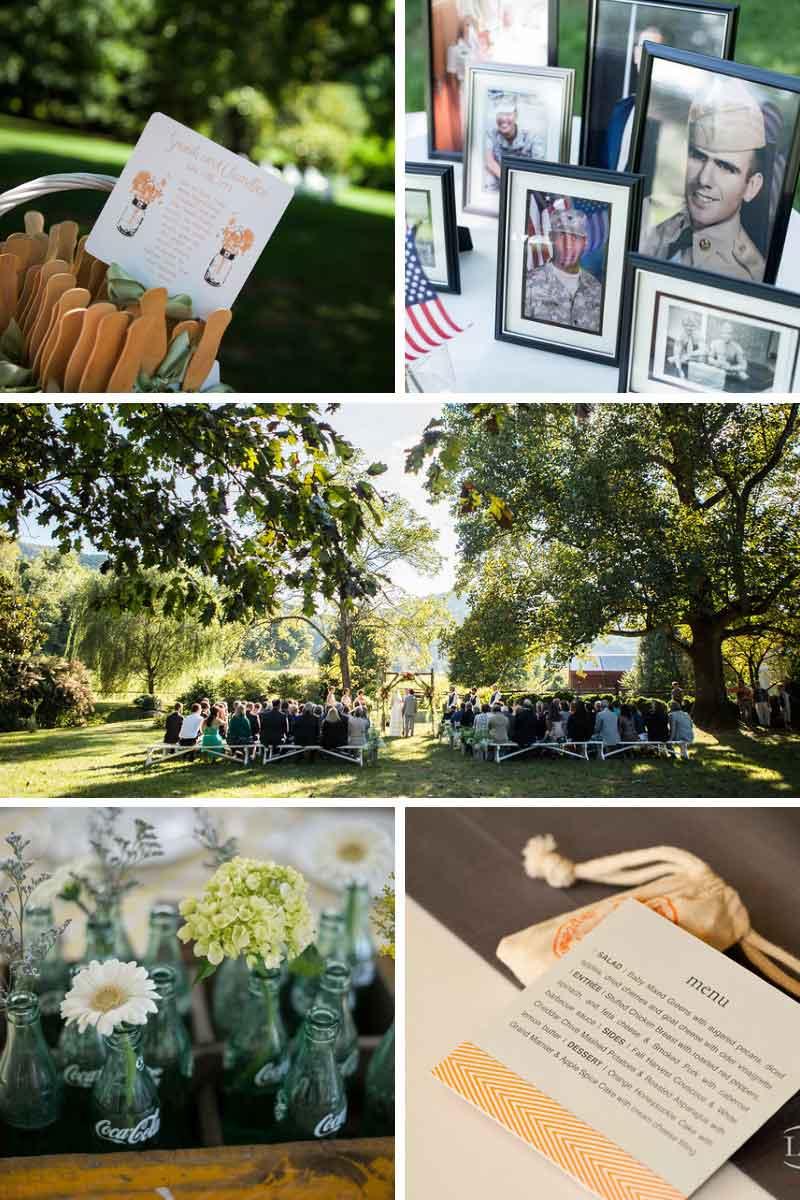 Garden wedding venues in Virginia