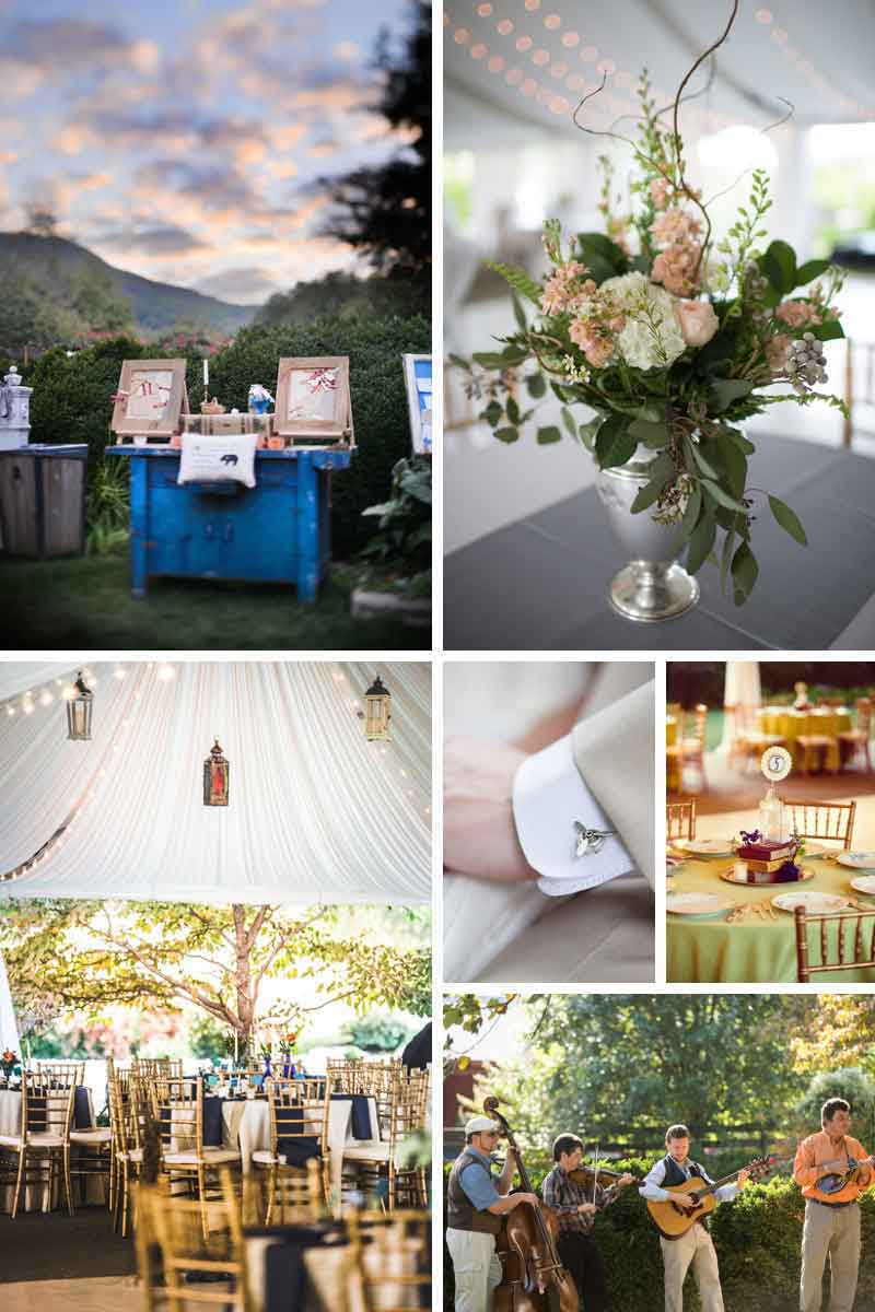 Outdoor weddings in Virginia